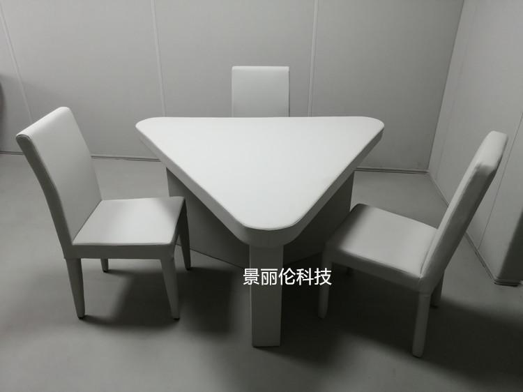 留置室软包桌椅