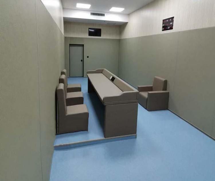 公安局留置室防撞软包